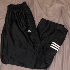 adidas snap down pants !!